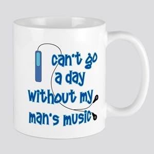 MP3 Mania Blue Mug