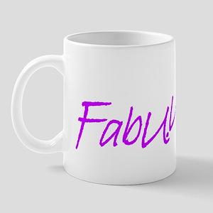 """""""FabUUlous"""" Mug"""