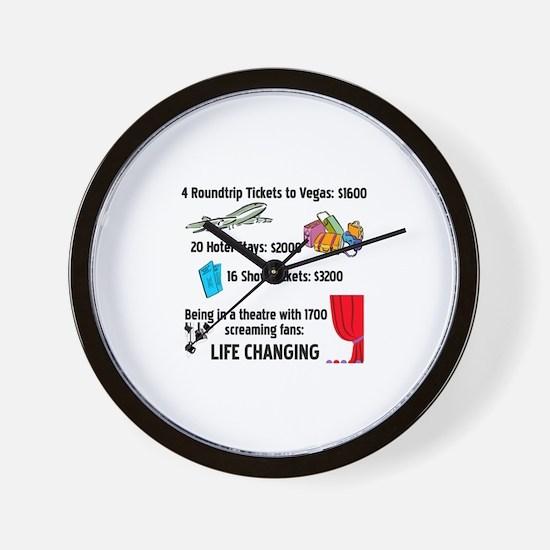 Life Changing Wall Clock
