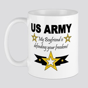Army My Boyfriend is defendin Mug