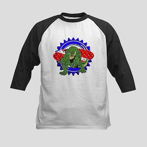 Gator Dive Logo Kids Baseball Jersey