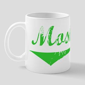 Moshe Vintage (Green) Mug