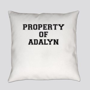 Property of ADALYN Everyday Pillow