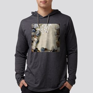 summer ocean beach seashells Long Sleeve T-Shirt