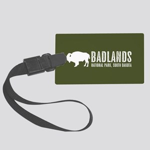 Bison: Badlands, South Dakota Large Luggage Tag