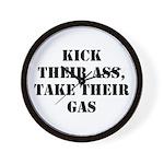 Kick Their Ass, Take Their Ga Wall Clock