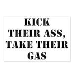 Kick Their Ass, Take Their Ga Postcards (Package o