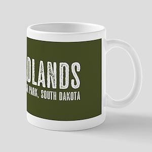 Bison: Badlands, South Dakota 11 oz Ceramic Mug