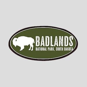 Bison: Badlands, South Dakota Patch