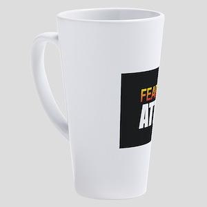 Fear the Attic 17 oz Latte Mug