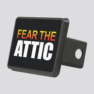 Fear the Attic Rectangular Hitch Cover