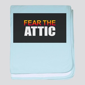 Fear the Attic baby blanket