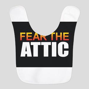 Fear the Attic Polyester Baby Bib