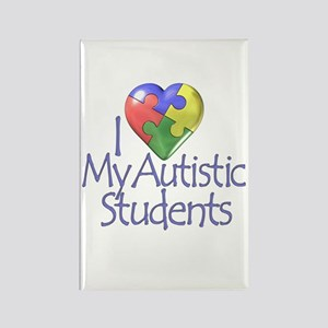 My Autistic Students Rectangle Magnet