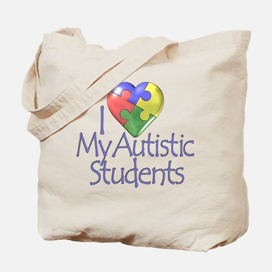 My Autistic Students Tote Bag