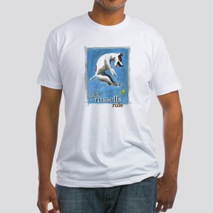 Jack Russells Rule Fitted T-Shirt