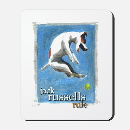 Jack Russells Rule Mousepad