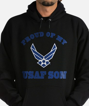 Air Force Son Proud Mom Dad Sweatshirt
