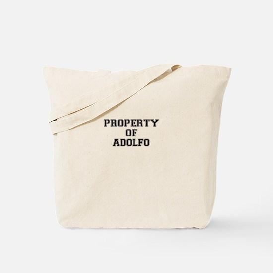 Property of ADOLFO Tote Bag