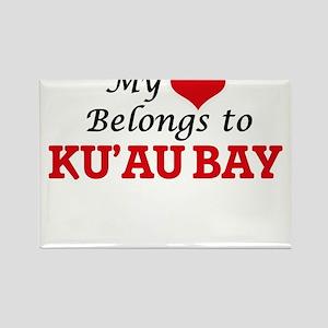 My Heart Belongs to Ku'Au Bay Hawaii Magnets