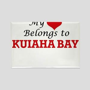 My Heart Belongs to Kuiaha Bay Hawaii Magnets