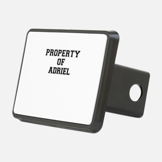 Property of ADRIEL Hitch Cover