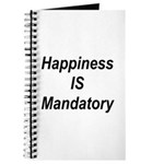Happiness Is Mandatory Journal