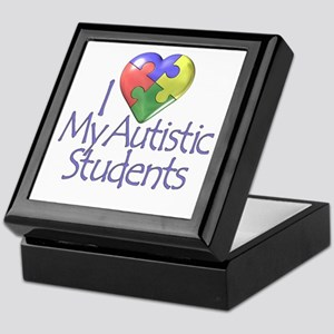 My Autistic Students Keepsake Box
