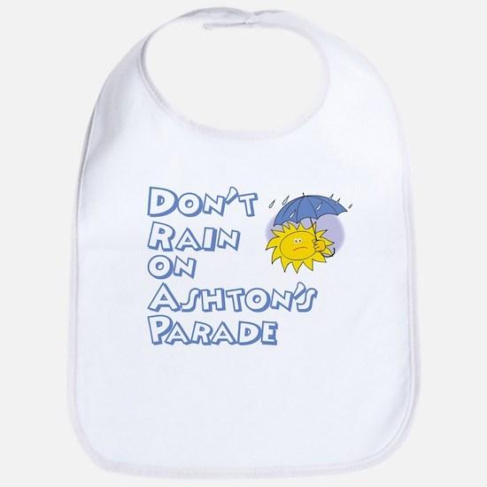 Don't Rain On Ashton's Parade Bib