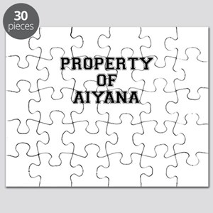 Property of AIYANA Puzzle