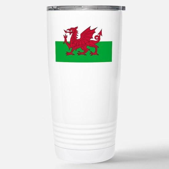 Flag of Wales Stainless Steel Travel Mug