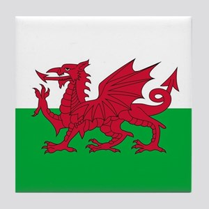 Flag of Wales Tile Coaster