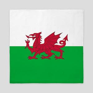 Flag of Wales Queen Duvet
