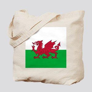 Flag of Wales Tote Bag