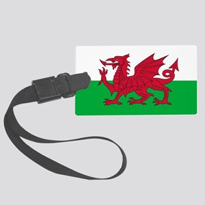 Flag of Wales Large Luggage Tag