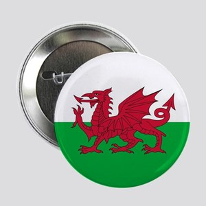 "Flag of Wales 2.25"" Button"