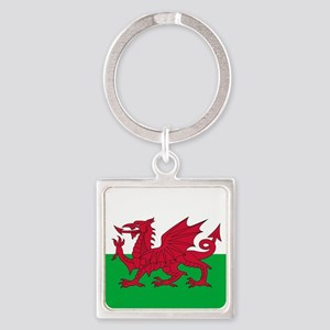 Flag of Wales Keychains