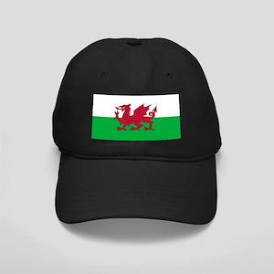Flag of Wales Black Cap