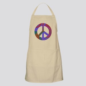 Peace Sign Swirl BBQ Apron