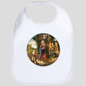 Christmas Nativity Bib