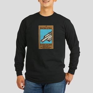 Slide Rule of Doom Long Sleeve Dark T-Shirt