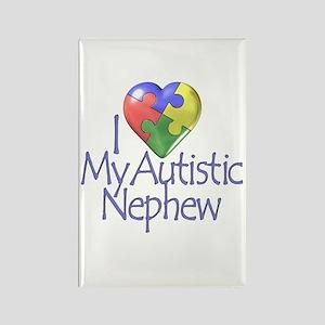 My Autistic Nephew Rectangle Magnet