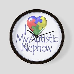 My Autistic Nephew Wall Clock