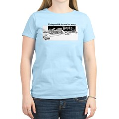 Impossible To Own Too Many Books Women's Light T-S