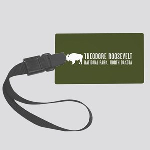 Bison: Theodore Roosevelt, North Large Luggage Tag