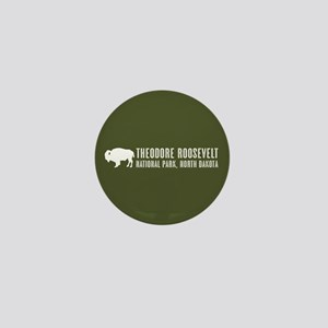 Bison: Theodore Roosevelt, North Dakot Mini Button
