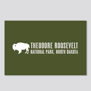Bison: Theodore Roosevelt Postcards (Package of 8)