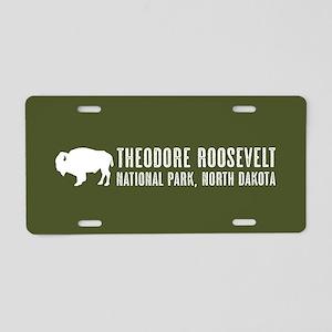 Bison: Theodore Roosevelt, Aluminum License Plate