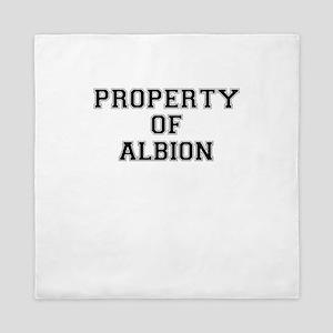 Property of ALBION Queen Duvet