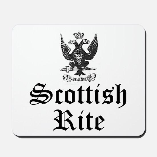 Scottish Rite 33 Degree Mousepad